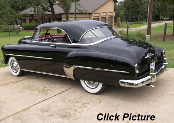 Classic cars for sale for 1952 chevy deluxe 2 door for sale