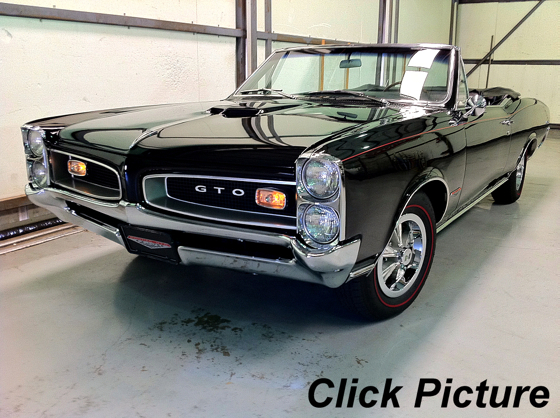 1966 GTO Tri-Power convertible
