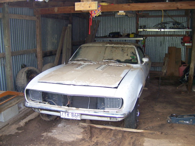 1967 Camaro barn find
