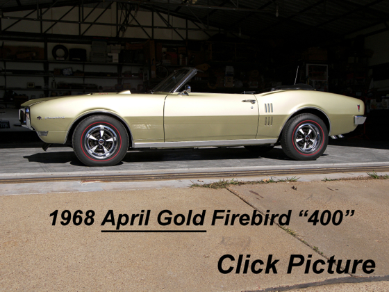 1968 Firebird 400 Convertible
