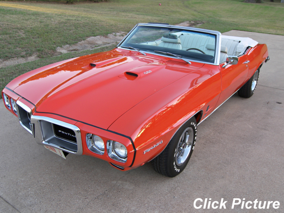 1969 Firebird 400 Convertible