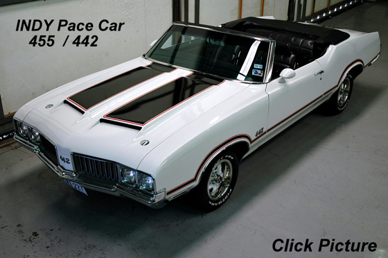1970 442 Oldsmobile Pace Car Convertible