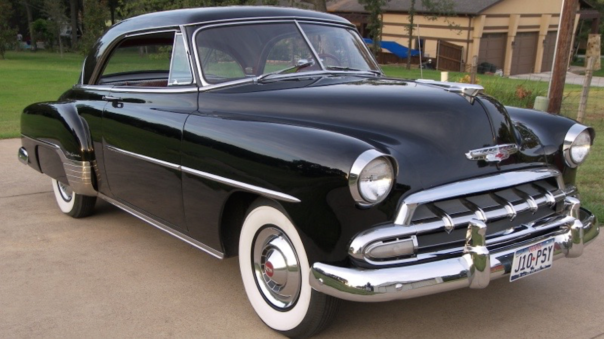 1952 chevy deluxe two door