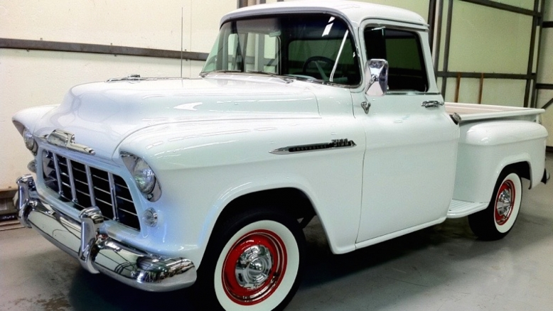 1956 Chevy Truck Deluxe Cab