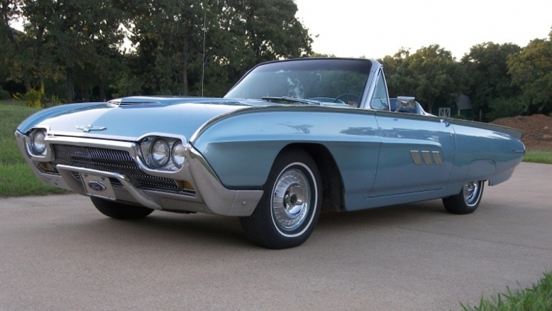 1963 Ford T-bird Convertible