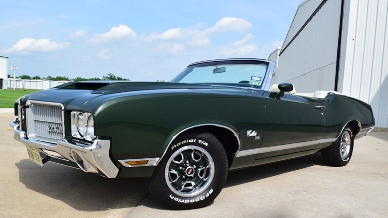 1971 Cutlass SX Ram Air 455 convertible