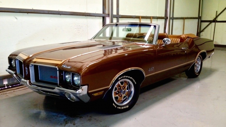 1972 Olds 442 Convertible 455