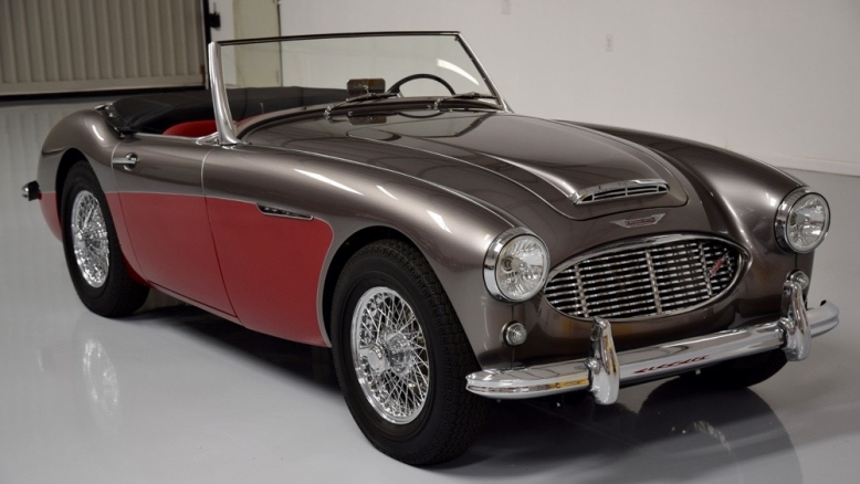 1961 Austin Healey 3000 Mark I BT7