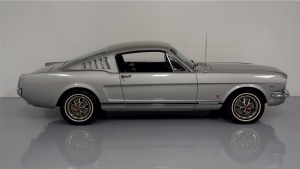 1966 GT Mustang Fastback Silver Frost