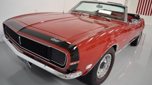 1968 Camaro Rally Sport Convertible Red