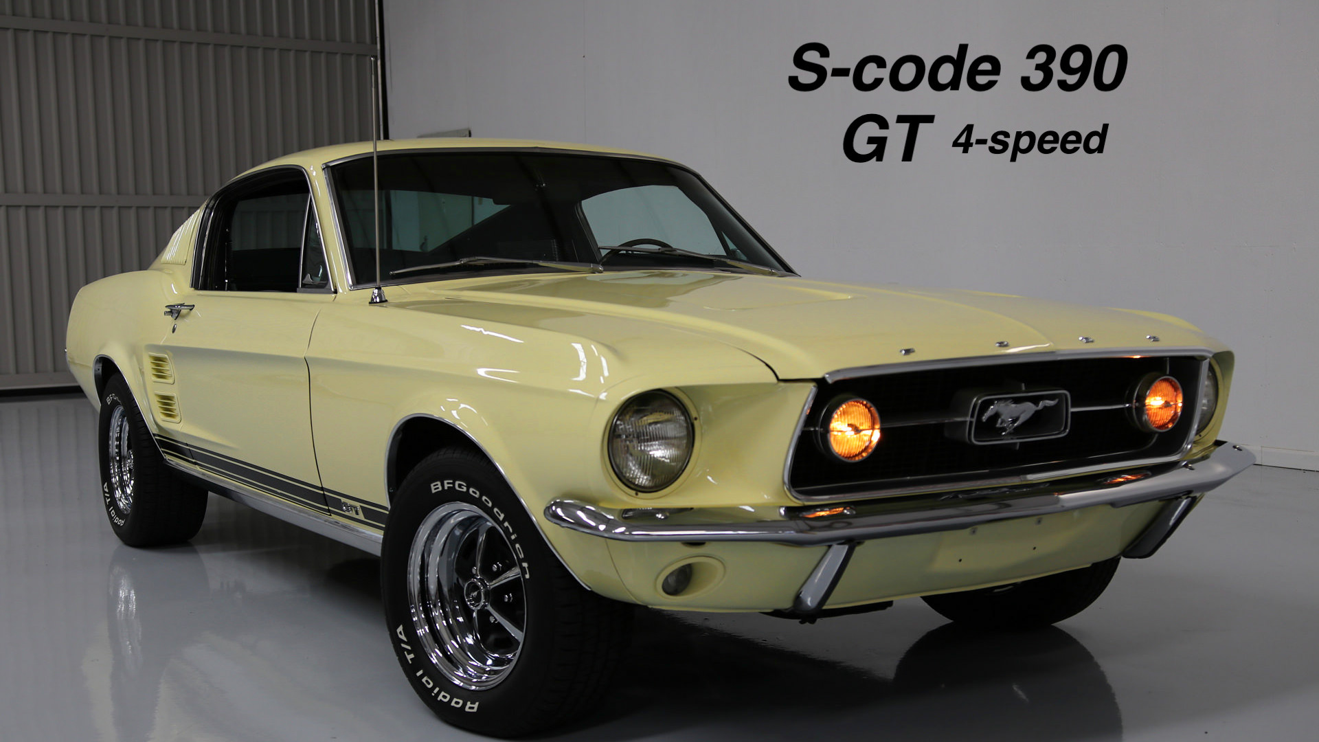 1967 Mustang GT 390 S code Fastback For Sale MyRod