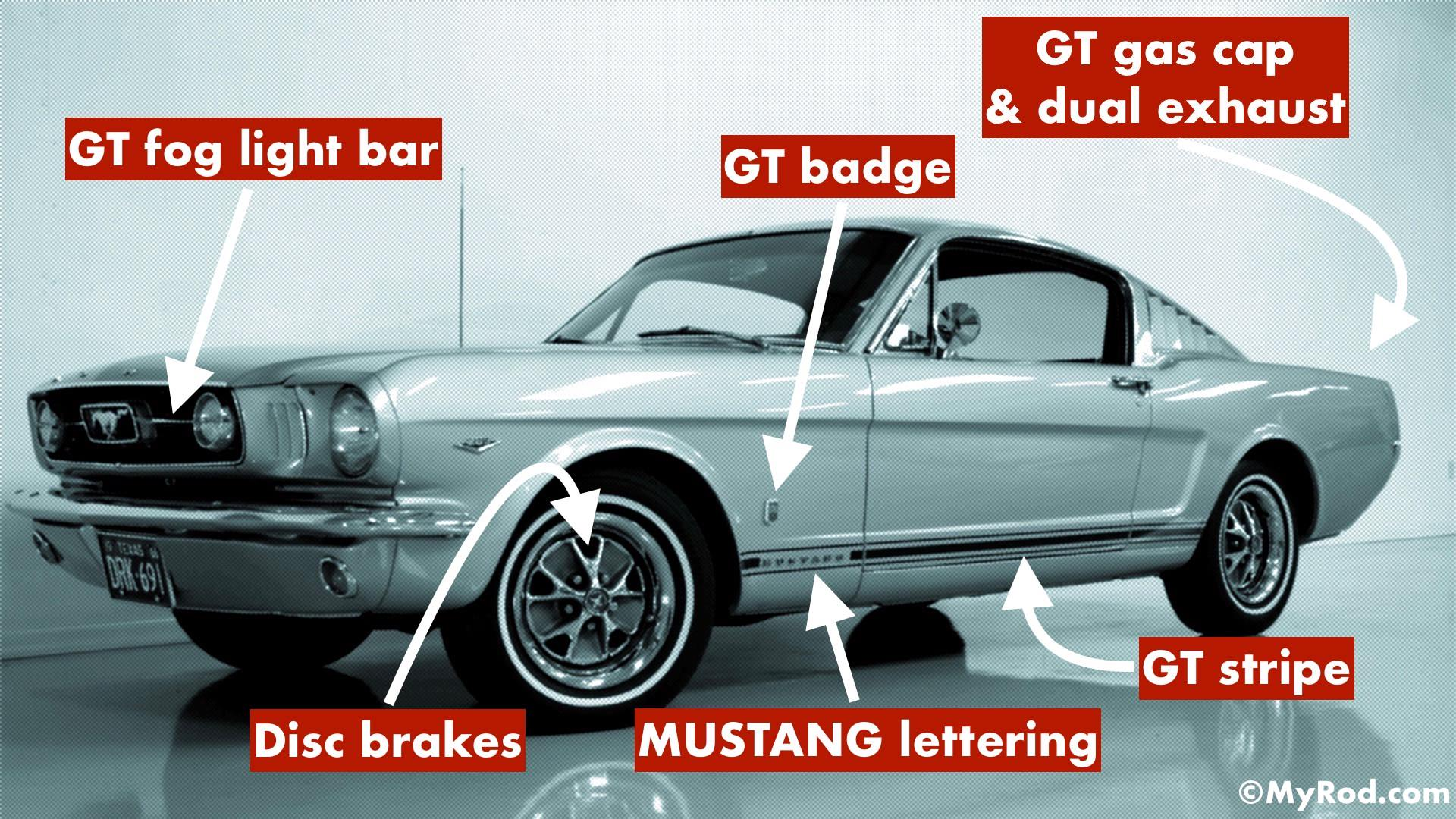 mustang gt verification  1965 - 1966  - myrod com