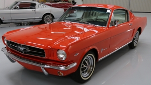 1965 Mustang Fastback Poppy Red