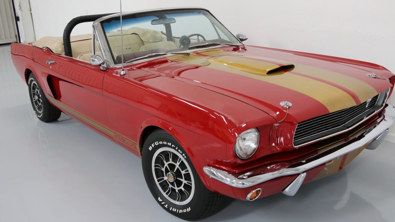 1966 Shelby GT350 Mustang Convertible