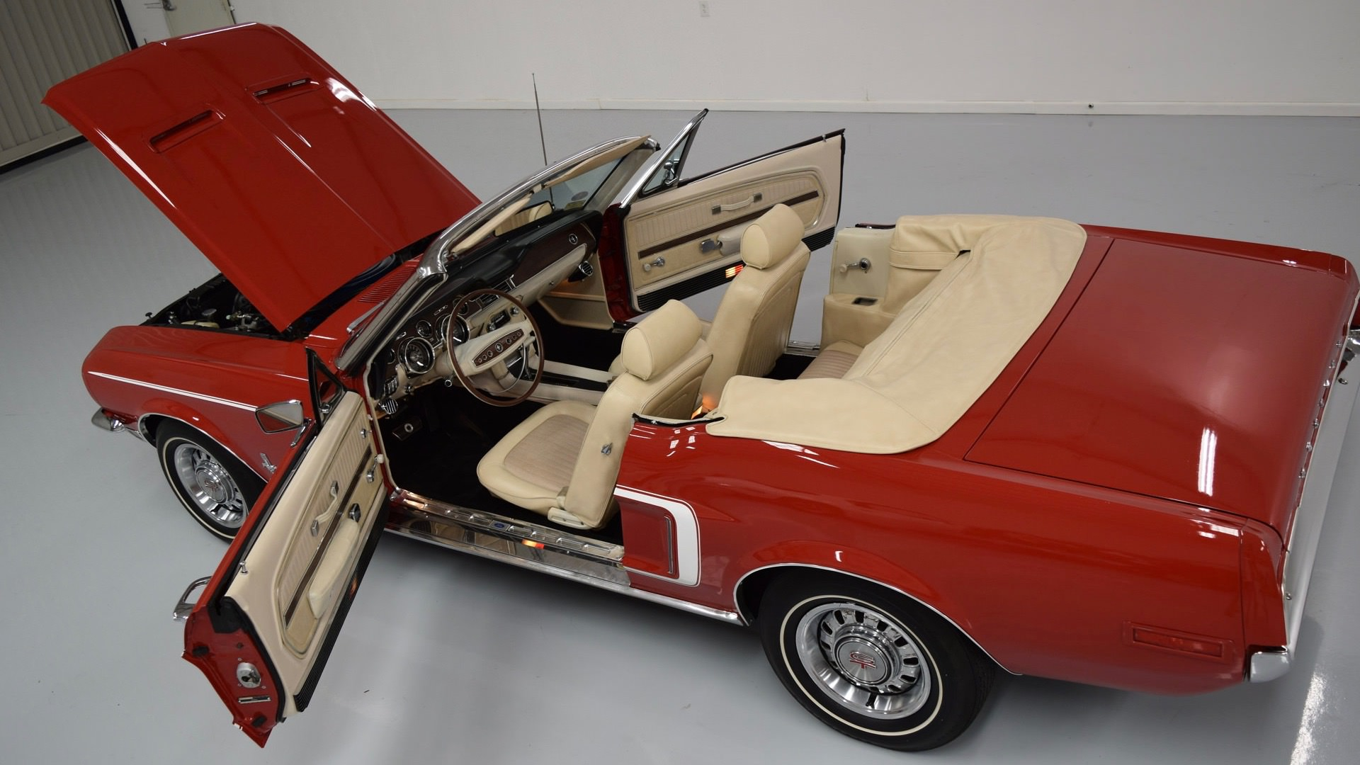 1968 High Option Mustang Convertible