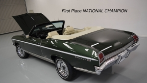 1969 Chevelle Convertible Fathom Green