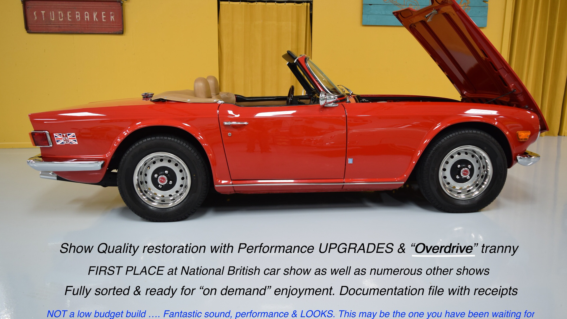 1972 Triumph Tr6 With Overdrive For Sale Myrodcom