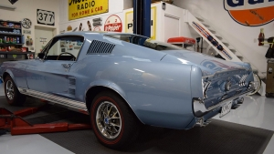 1967 Mustang GT GTA Fastback Brittany Blue