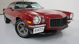 1973 Camaro Rally Sport LT Dark Red
