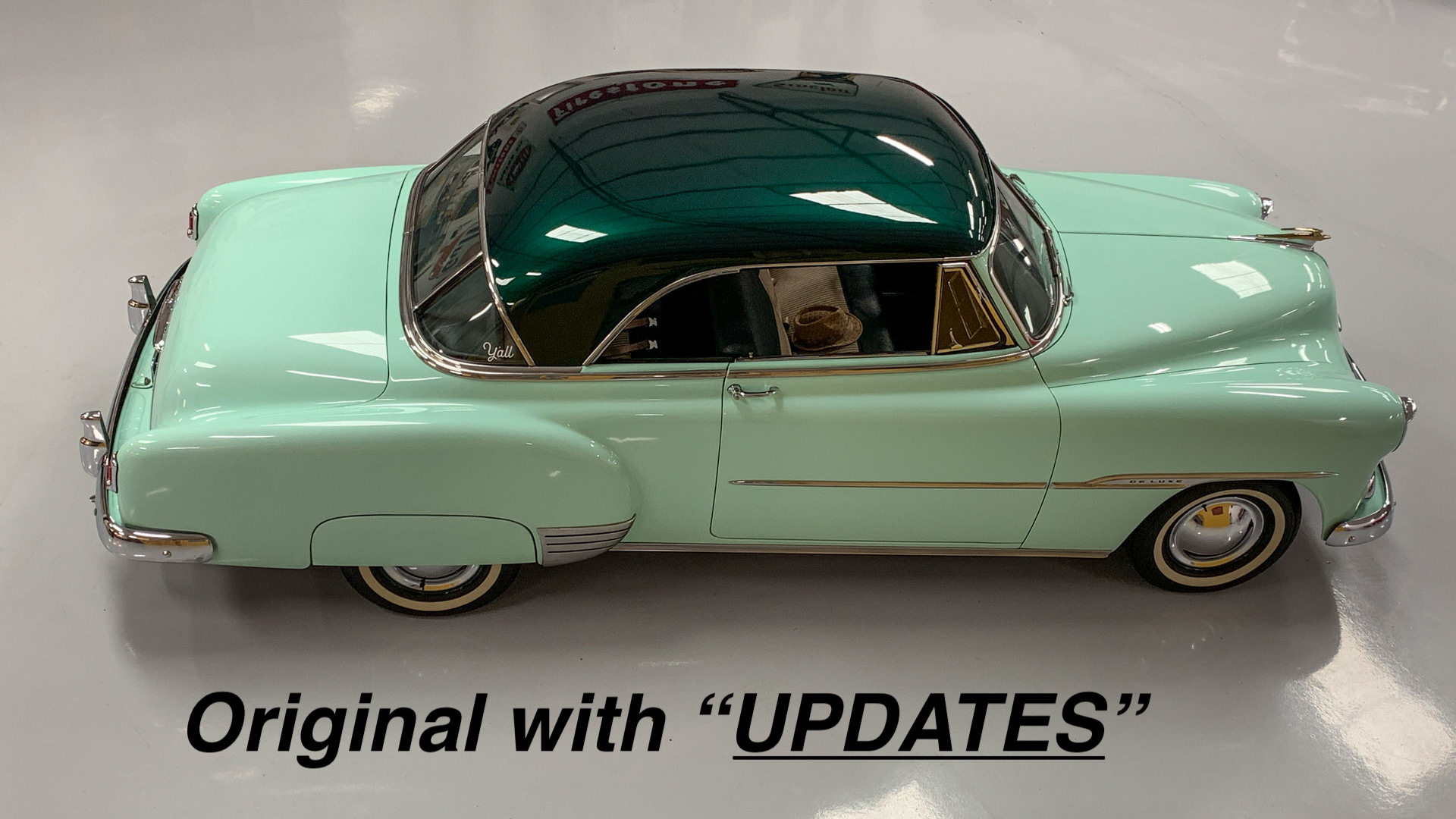 1951 Chevrolet Bel Air 261 Surf Green