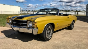 1971 Chevelle SS 454 HO Convertible Placer Gold