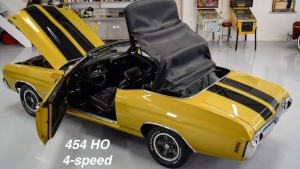 1971 Chevelle Super Sport 454 Convertible Placer Gold SS