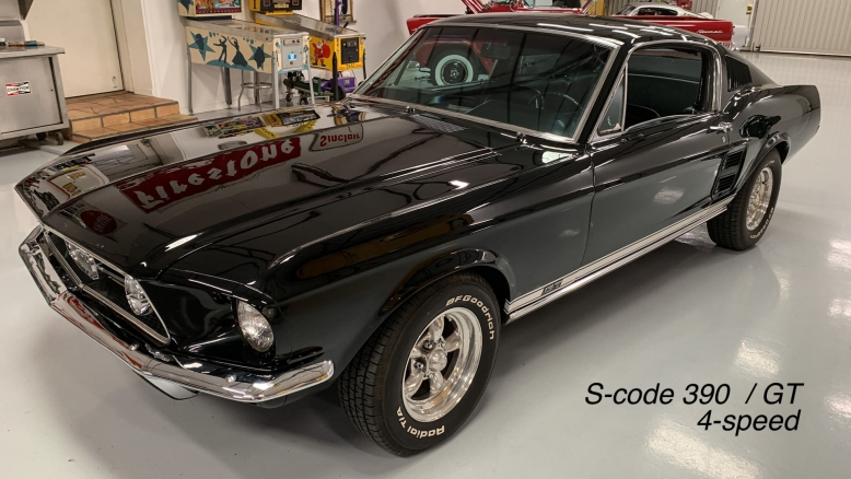 1967 Fastback GT S-code 390