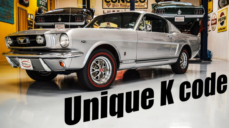 1966 Mustang K-code Fastback Silver Frost