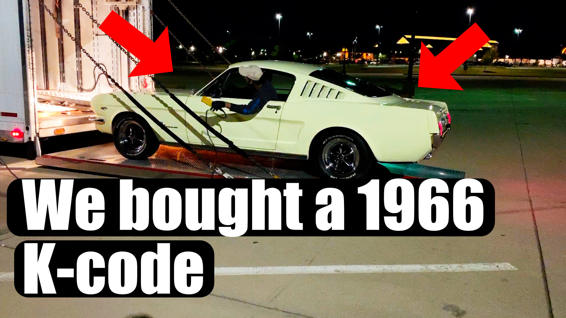 We Just Bought a 1966 K code… and it's AWESOME!