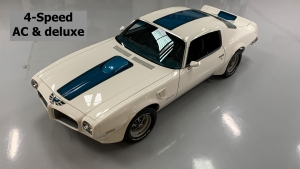 1971 Trans Am HO 455 4-speed Air Conditioning For Sale-1