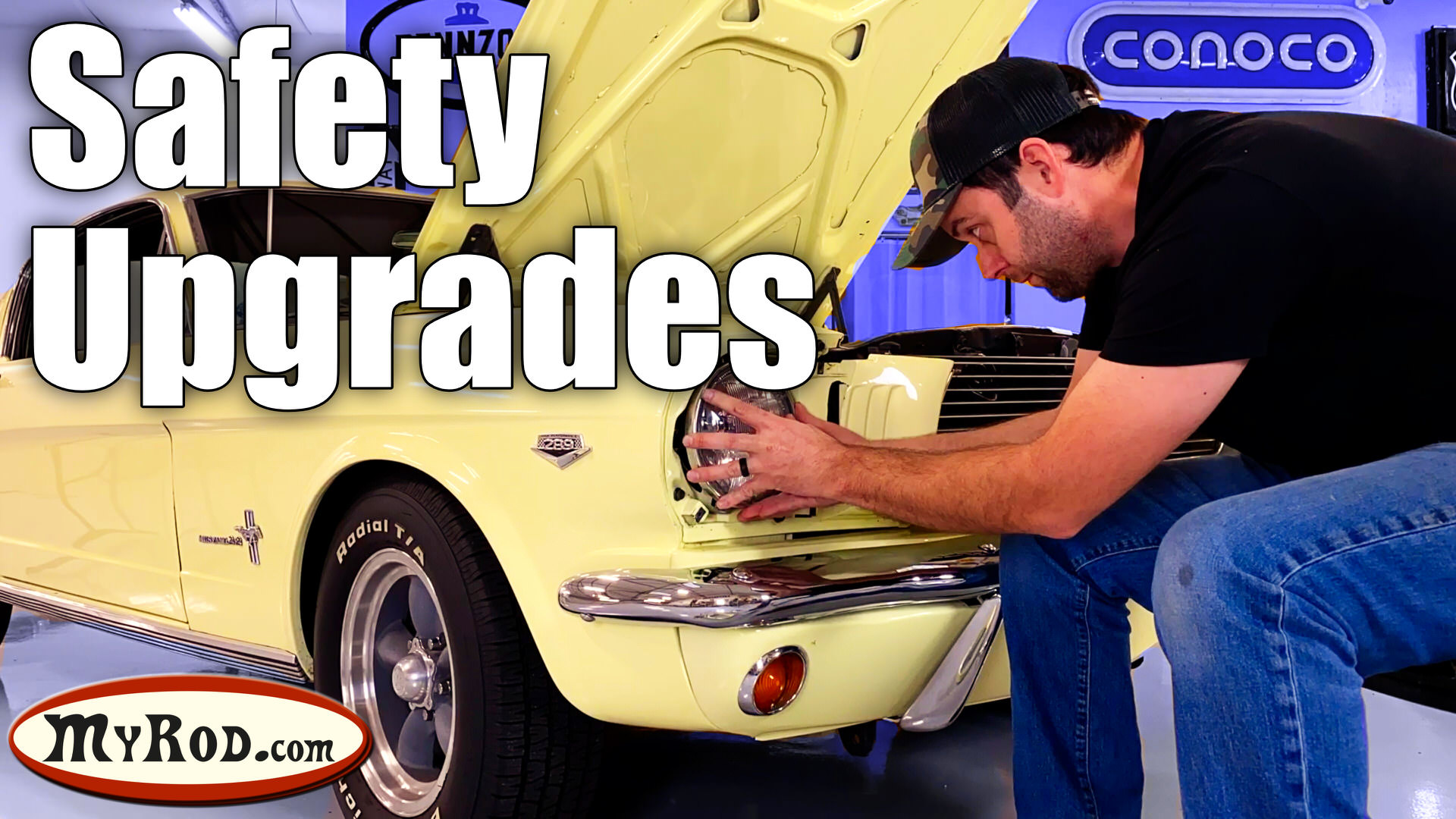 1966 Mustang Safety Upgrades