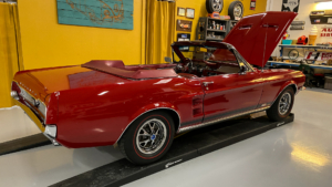 1967 Mustang Convertible Red