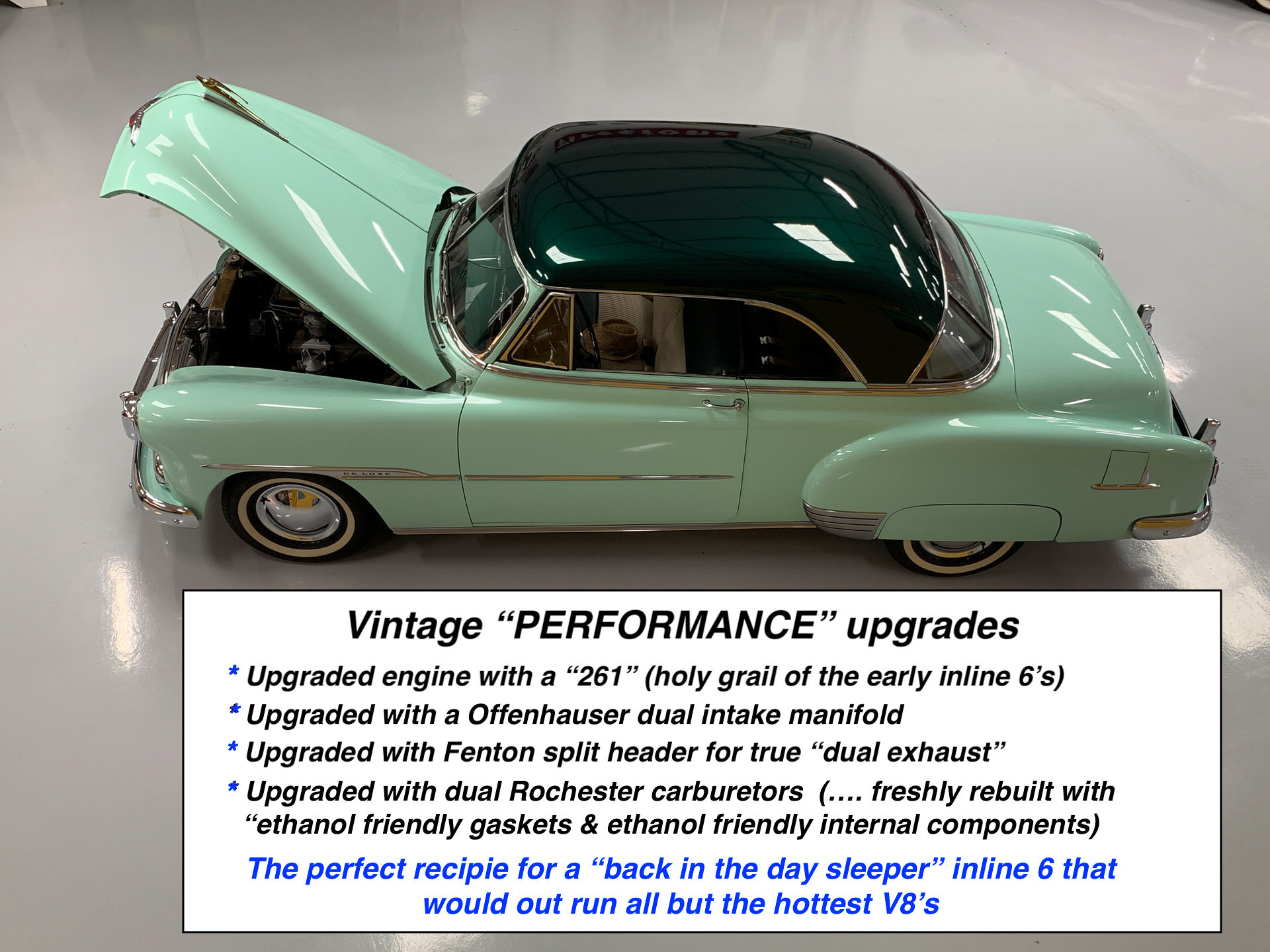 1951 Chevy Bel Air 261 inline six with turbo 350 - For Sale
