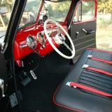1952 Chevy Truck interior