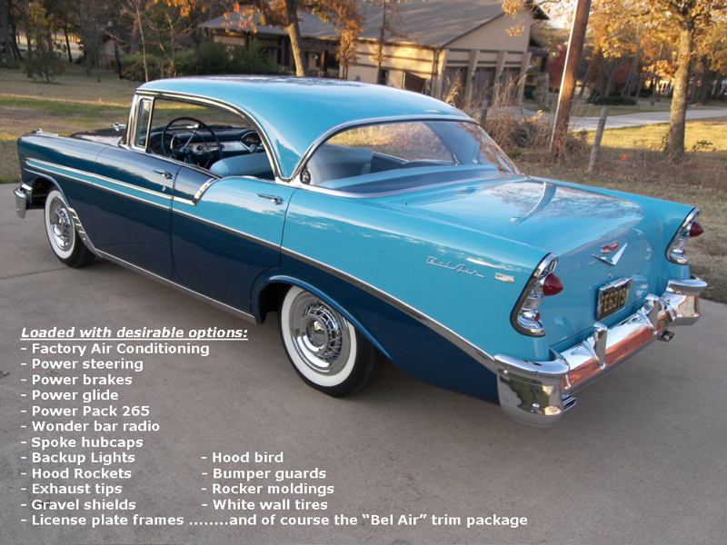 1956 Chevrolet Bel Air Myrod