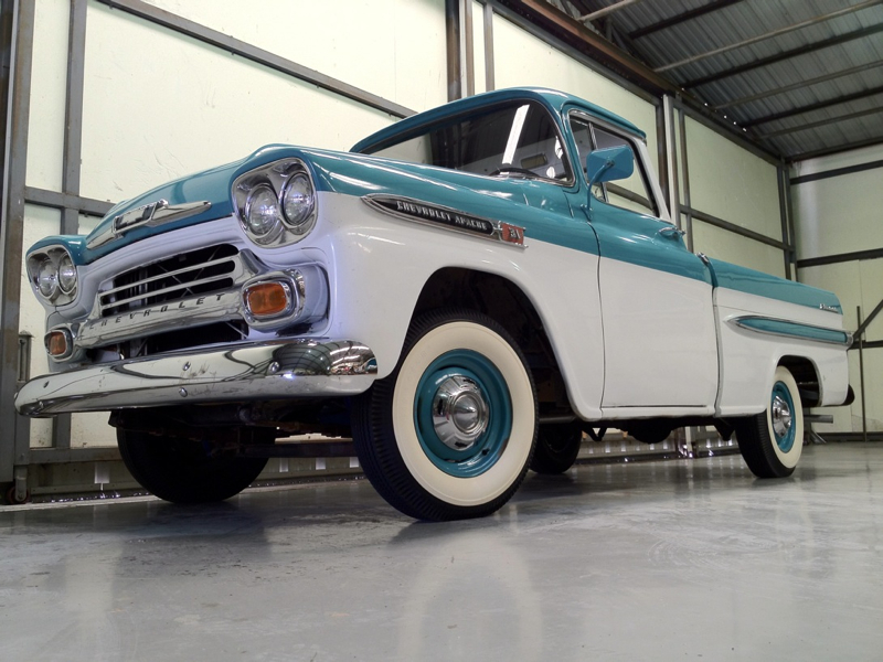 1958 1959 Apache Difference Autos Post