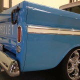 1965 Chevy Truck C10 blue