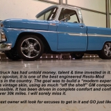 1965 Chevy pickup C10 blue