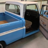 1965 Chevy Truck C10 blue while
