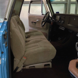 1965 Chevy Truck C10 interior