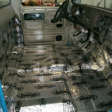 1965 Chevy Truck C10 insulation