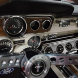 1965 Mustang GT gauges with rally pac
