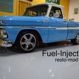 1965 Chevy Truck restomod blue