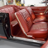 1966 Ford Fairlane GT 390 S-code Convertible red deluxe interior