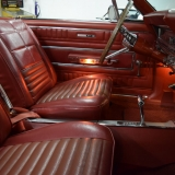 1966 Ford Fairlane GT convertible red interior