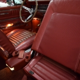 1966 Ford Fairlane GT seat back red