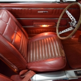 1966 Ford Fairlane GT Convertible red bucket seat