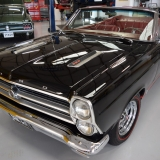 1966 Ford Fairlane GT 390 S-code Convertible Black front