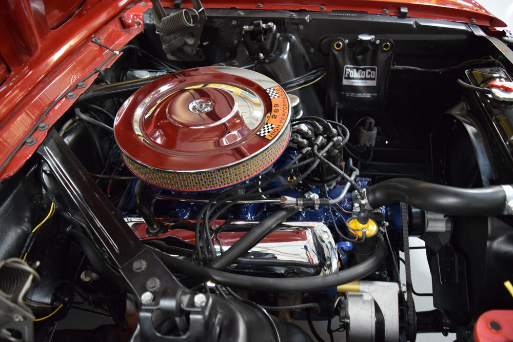1966 Mustang K-code GT Candy Apple Red - For Sale - MyRod com