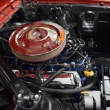 1966 Mustang K code Hi Po Candy Apple Red coupe for sale-4